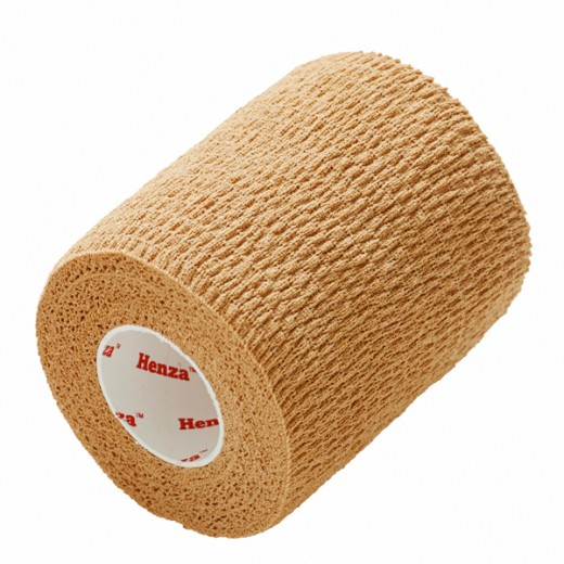 Henza® Flexible Sports Bandage BEIGE 7,5 cm x 4,5 m-35