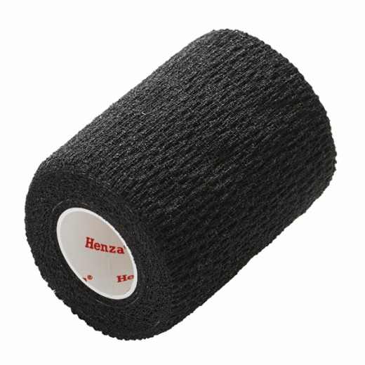 Henza® Flexible Sports Bandage SVART 7,5 cm x 4,5 m-35