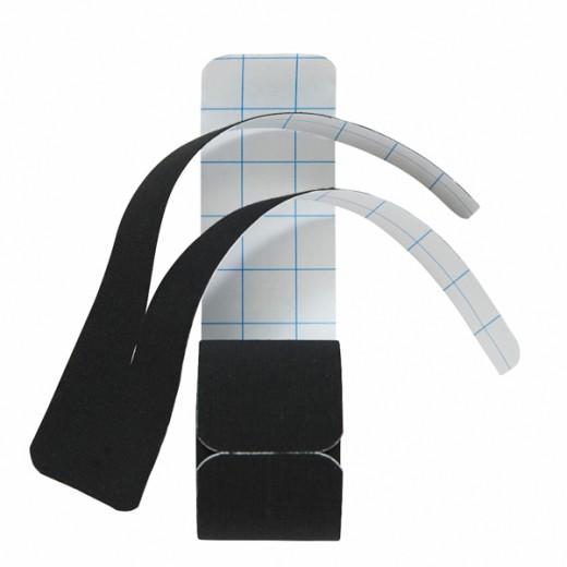 Henza® Pre-cut Kinesiologi Y-form - SVART