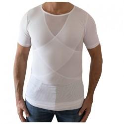 Hvid Perfect Posture T-Shirt - Herremodel