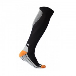 Supcare Run Sock, Svart/Orange kompressionsstrumpa-20
