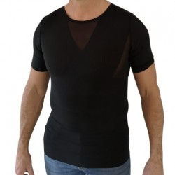 Svart Perfect Posture T-Shirt - Man